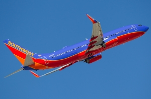 One of Southwest's new 737-800s